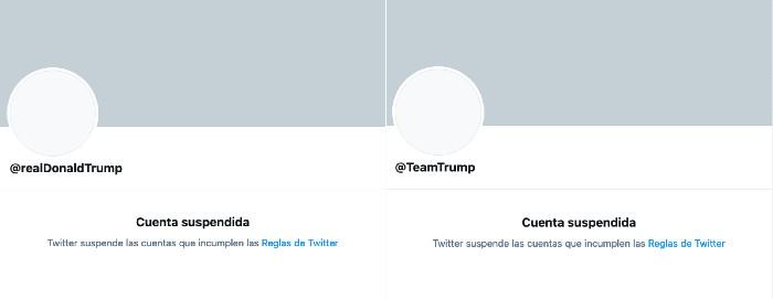 Trump reacciona al bloqueo de Twitter desde @POTUS; acusa coordinación de la red social con demócratas 2